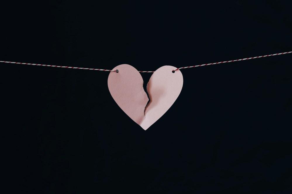 broken heart - newly single parent