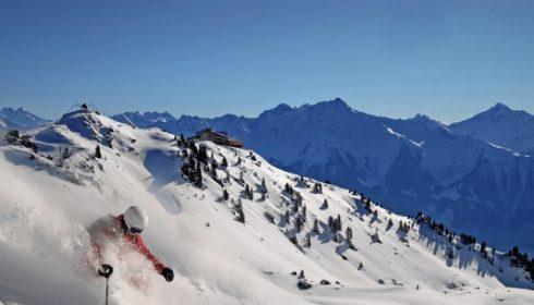skiing in Ziller Valley