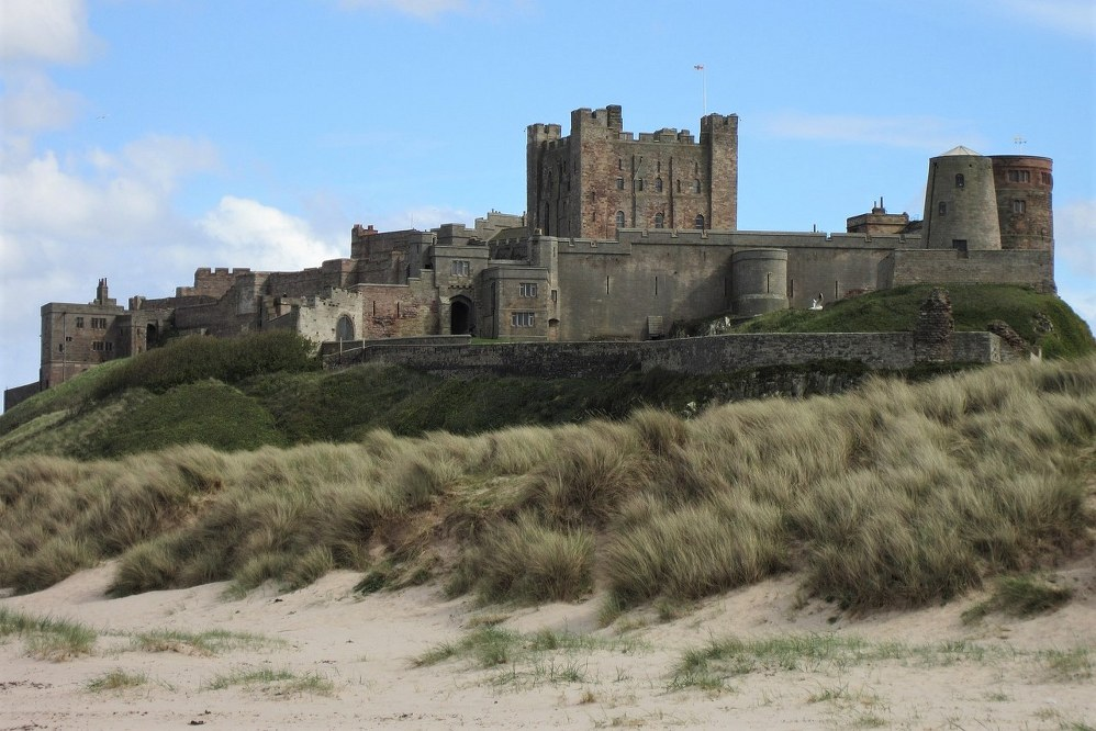 Bamburgh Castle - family day out in Northumberland