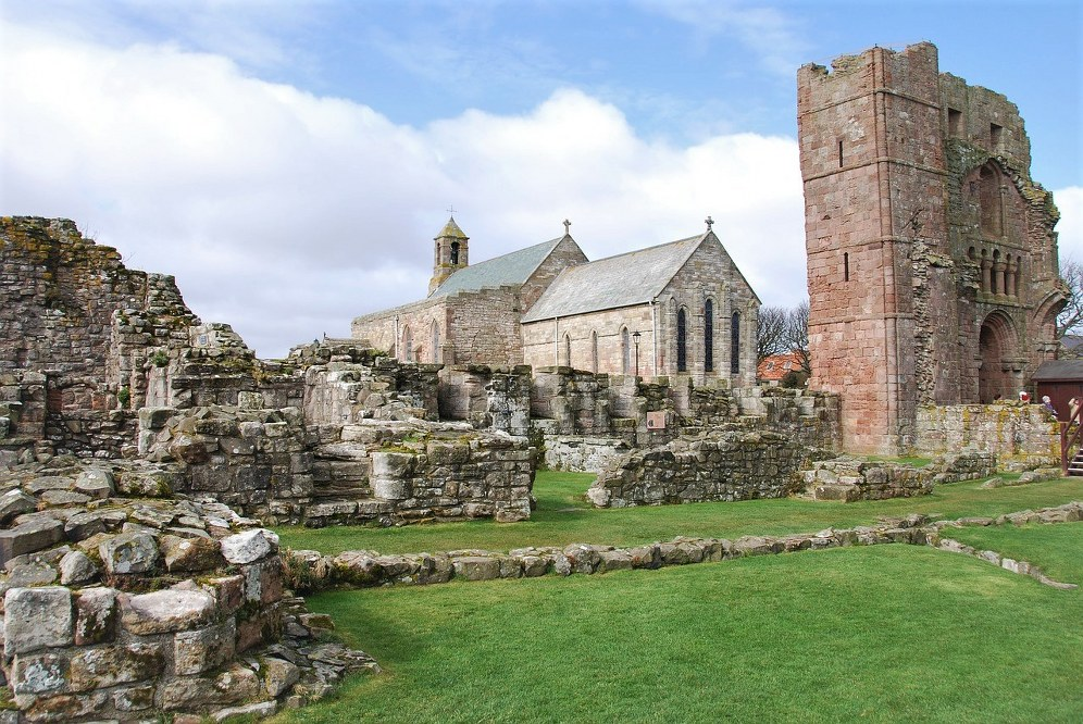 Church Lindisfarne - family day out in Northumberland