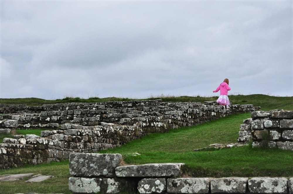 Hadrian's Wall - family day out in Northumberland