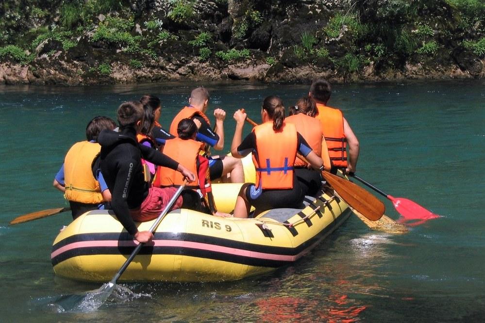 Rafting on Montenegro's River Tara