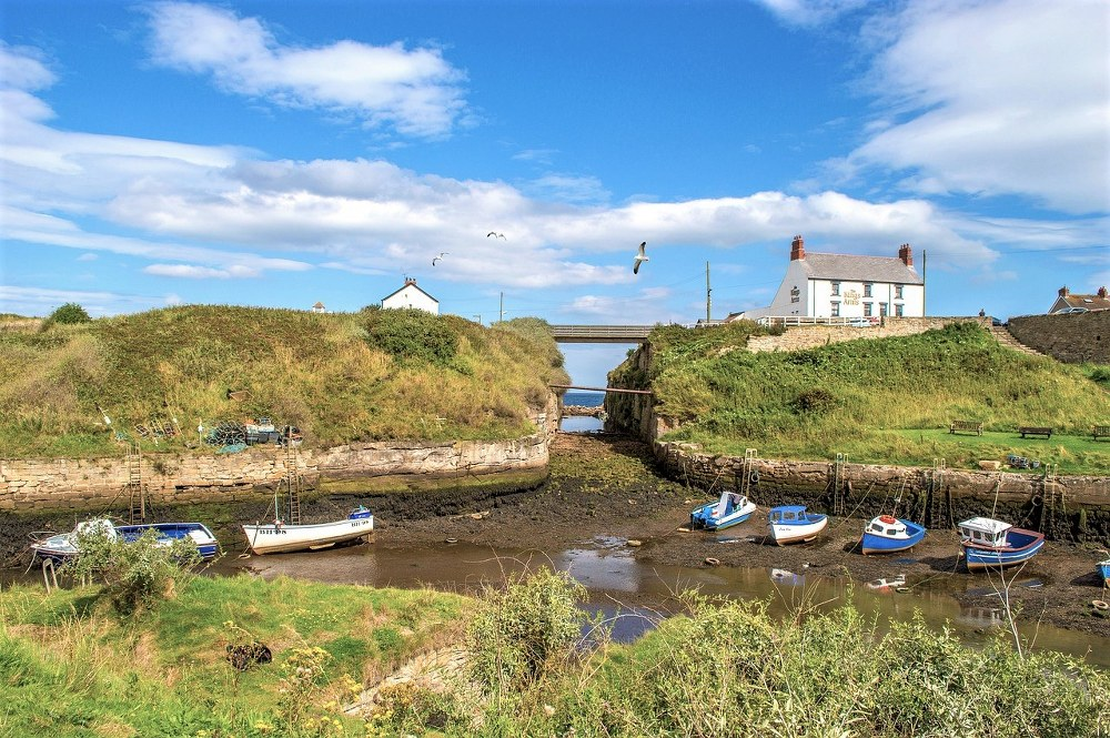 Seaton Sluice- family day out in Northumberland