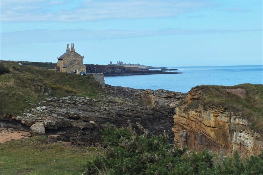 coastline in Northumberland