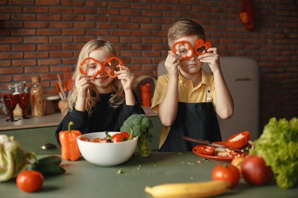 vitamins for kids from vegetables