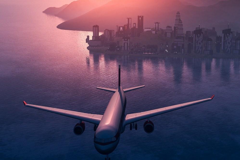 plane - dream holiday
