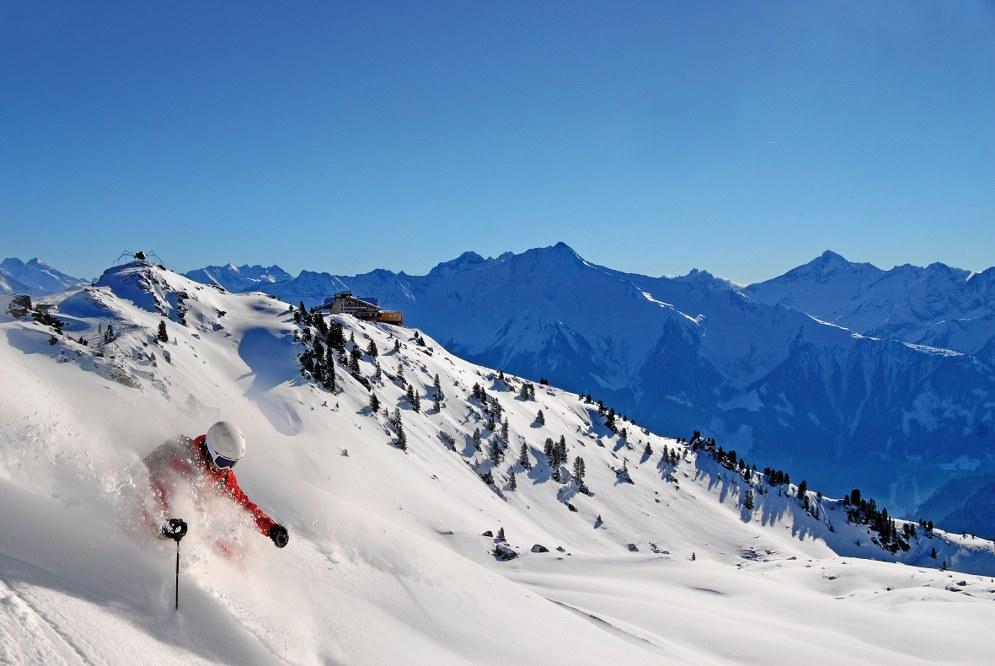 single ski holiday in Tyrol, Austria