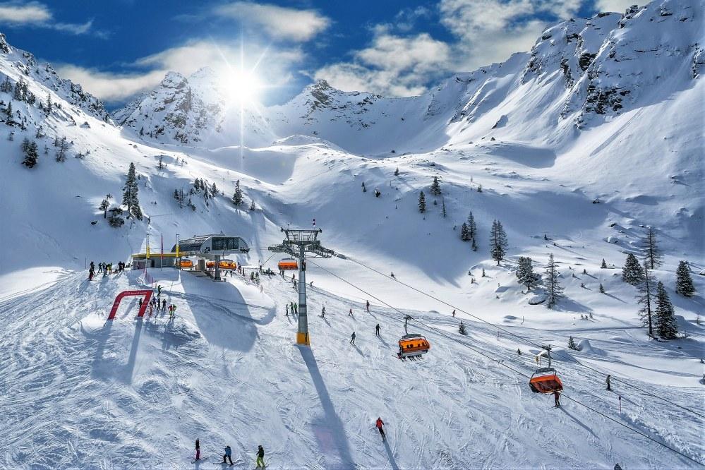 singles ski holiday on Hauser Kaibling, Austria
