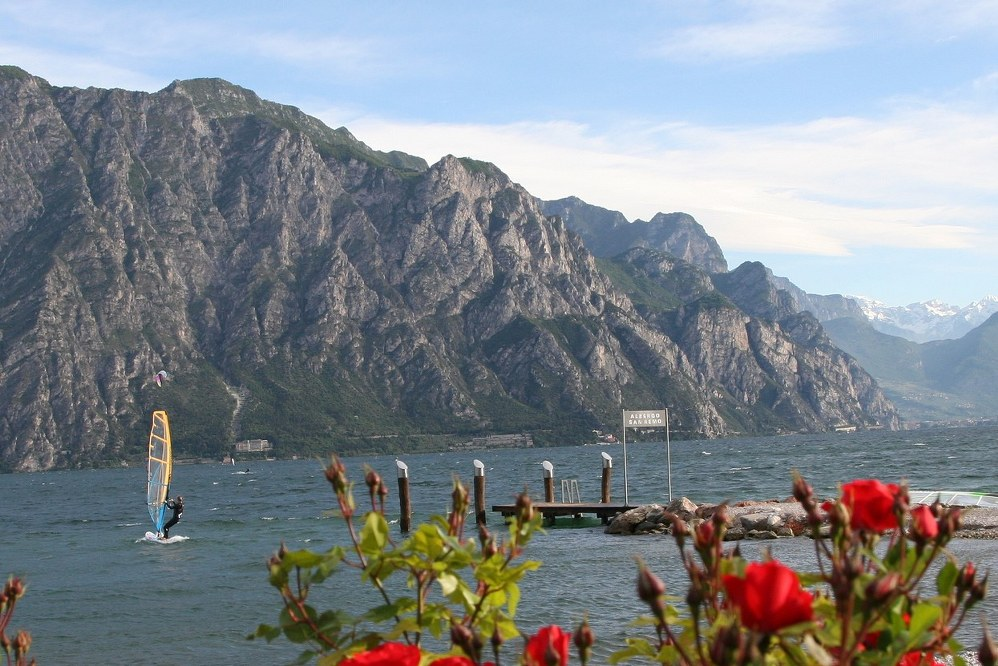 single parent holiday ideas off the beaten track - windsurfing in Italy