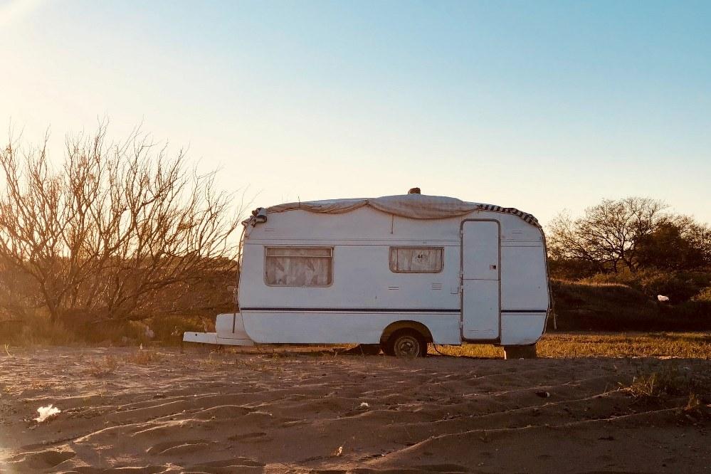 single parent caravan holiday