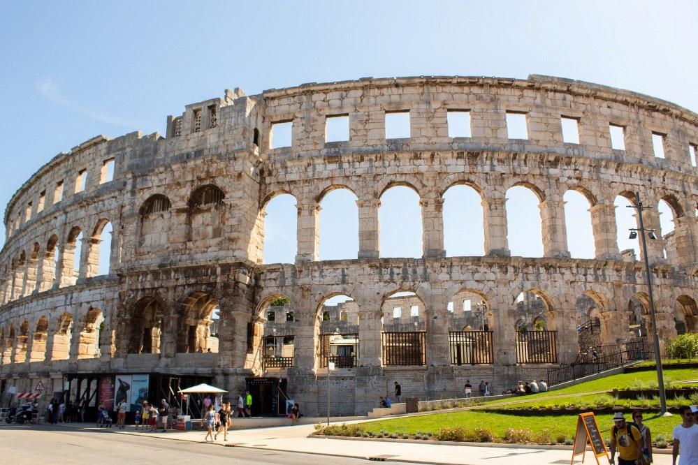 solo holidays in Croatia - Pula amphitheatre