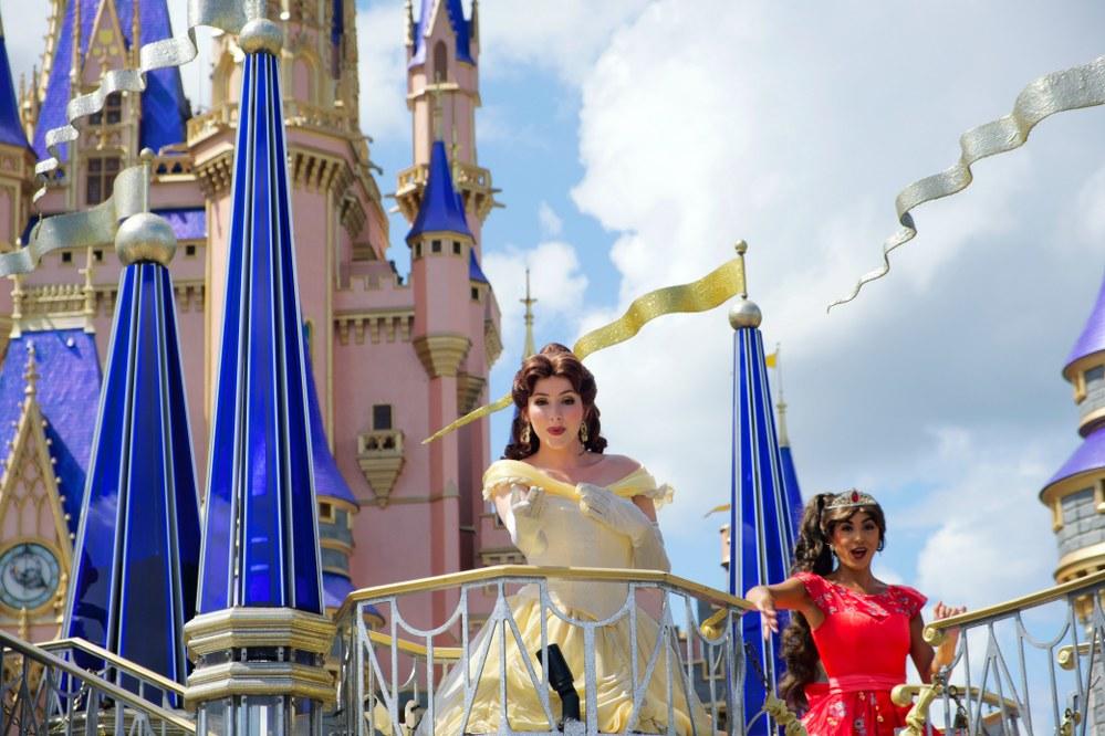 Disney World princesses