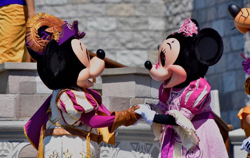 Disney World Mickey and Minnie