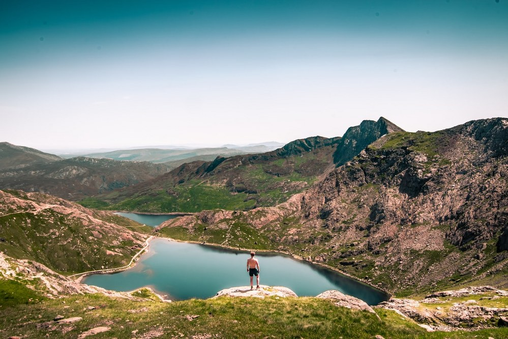 Snowdonia in North Wales