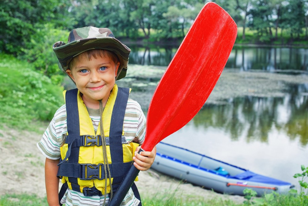 kayaking in Snowdonia North Wales