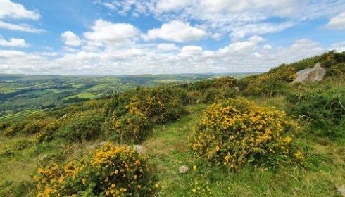 Buckland Beacon in Dartmoor