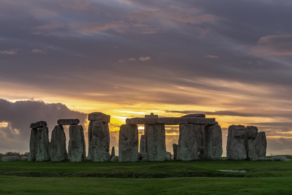 Stonehenge in South West England