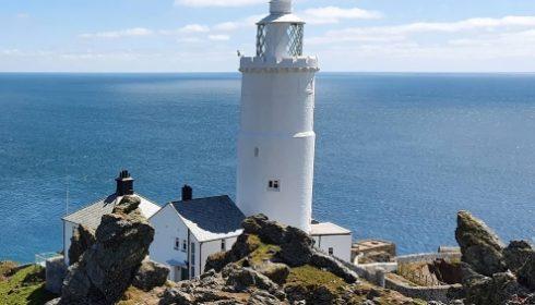 lighthouse at Slapton Sands (w)