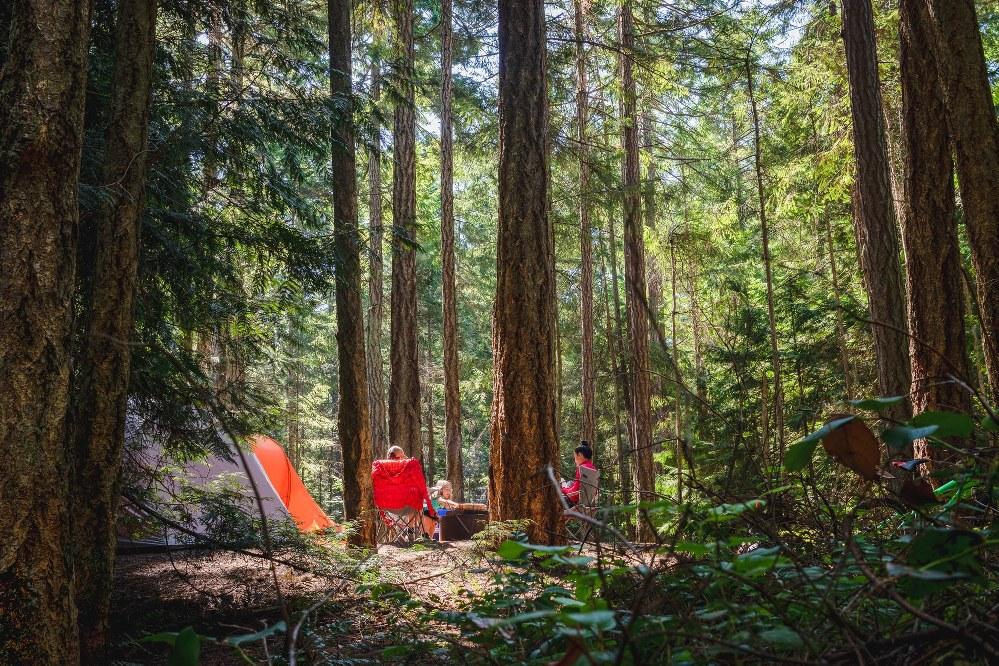 single parents camping holiday