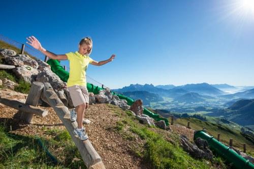©Michael_Werlberger photo: girl at advenure playground in Tirol
