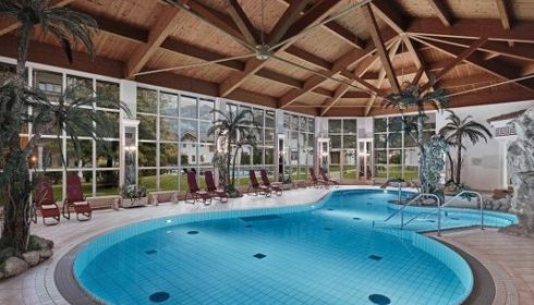indoor pool at Hotel Lisi in Reith