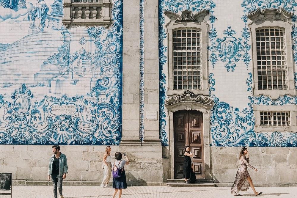 Porto city trip - Azulejos wall