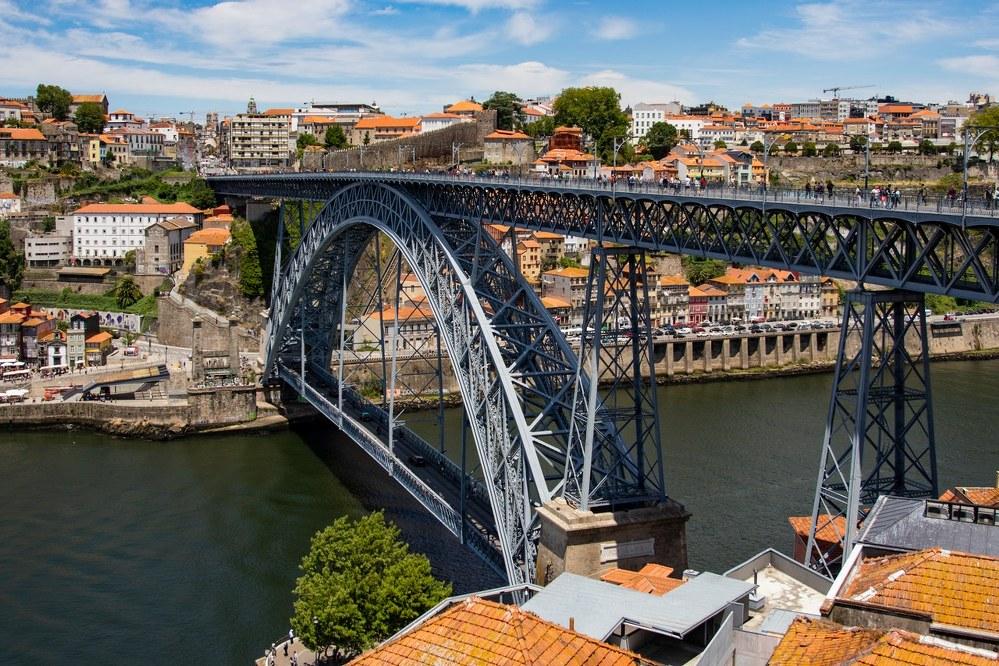 Porto city trip - Port Luis I Bridge