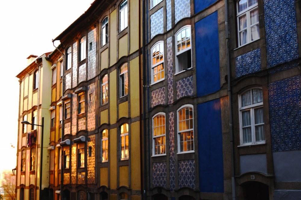 Porto old town houses