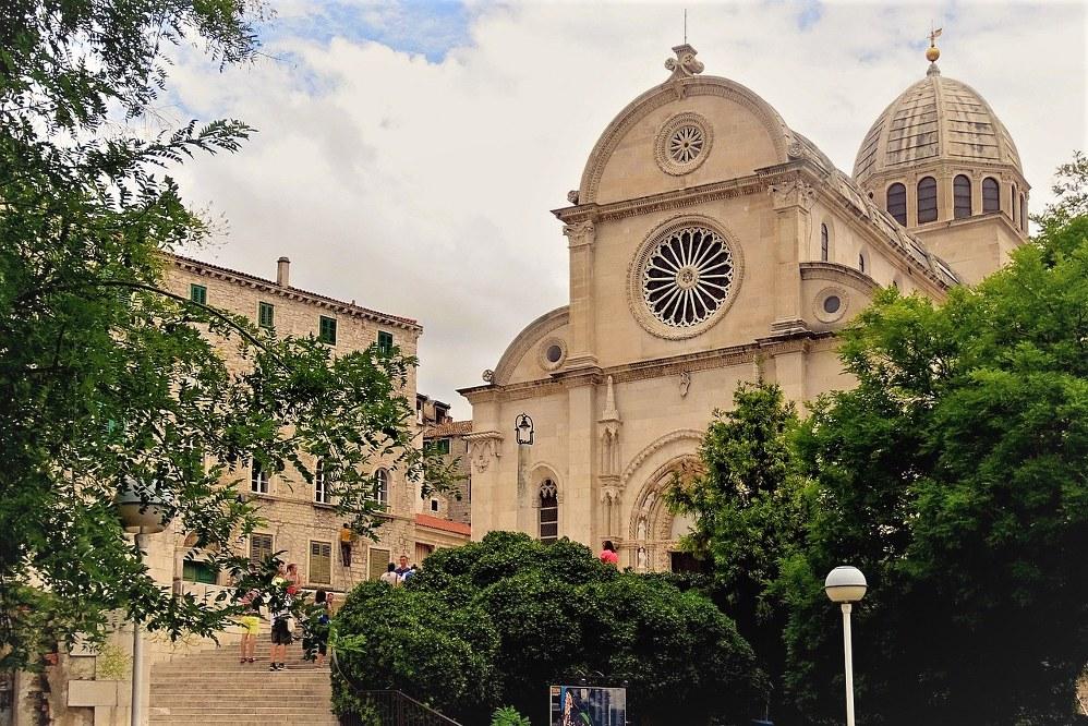 St Jacob's Cathedral in Šibenik, Croatia