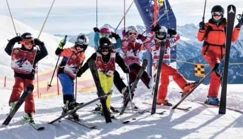 ski school at Hintertux Glacier
