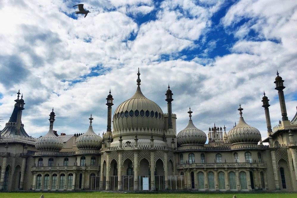 Brighton Palace in England, UK