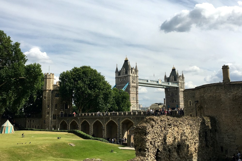 Tower of London and Tower Bridge - England, UK