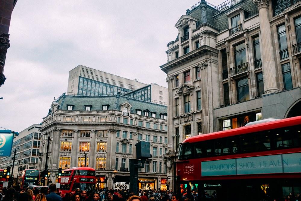 best shopping in London - Oxford Street