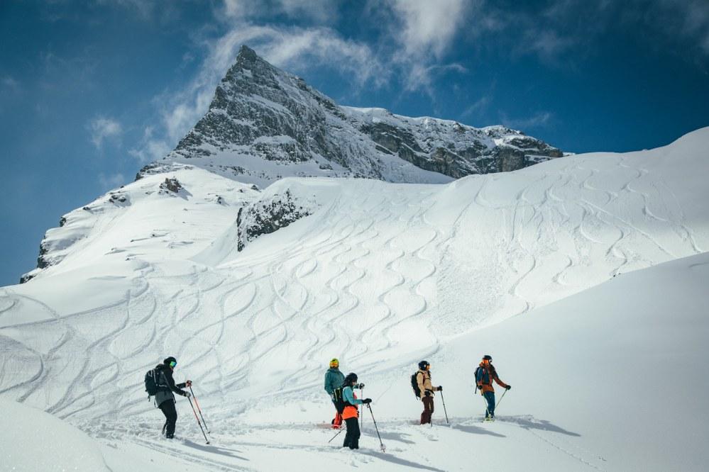 Hintertux glacier skiing