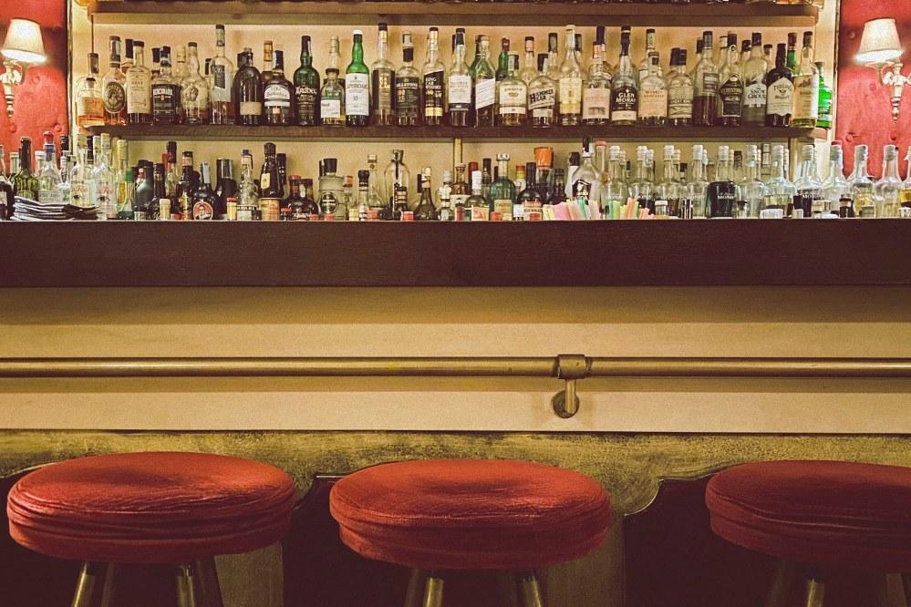vintage bar in Sardinia