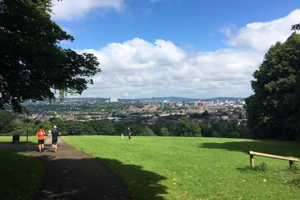 green outdoor space in Sheffield