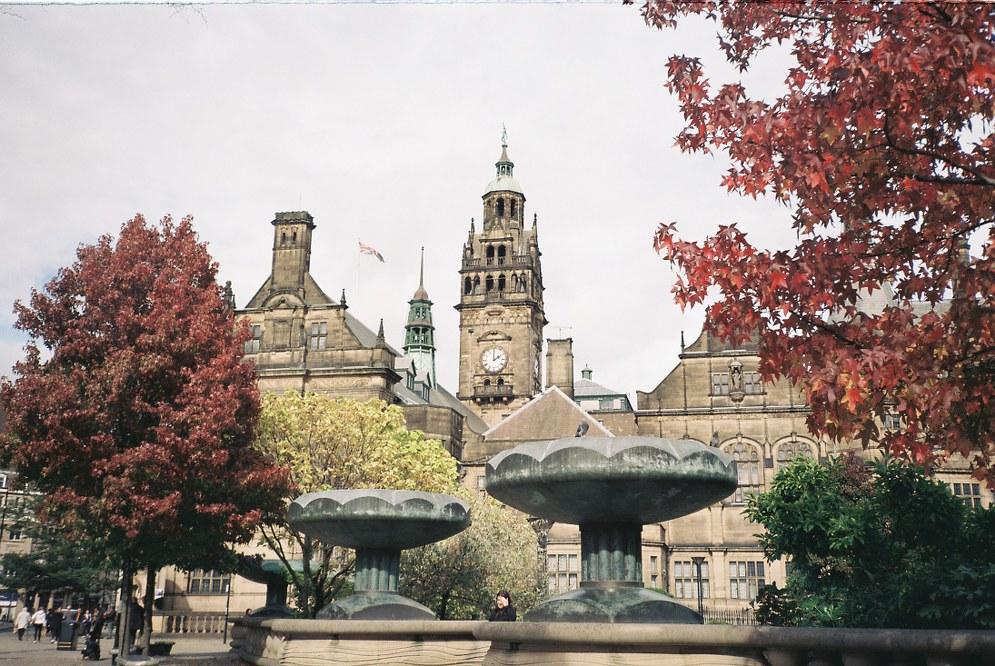 Sheffield inner city