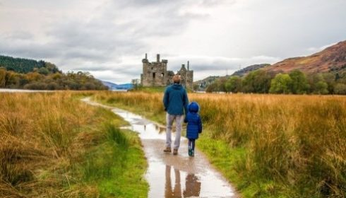 single parent holidays in Scotland